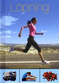 Lopning Swedish running book by Rachel Newcombe